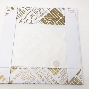 Lululemon White/Gold LTD Edition Gift Box NEW